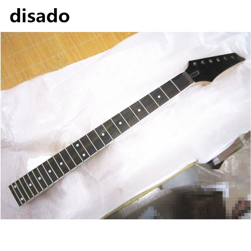 disado 24 Frets Inlay dots maple Electric Guitar Neck rosewood fingerboard matte paint Wholesale Guitar accessories parts