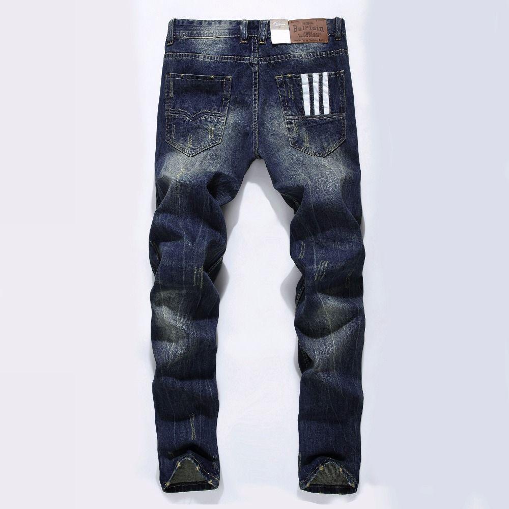 Известная марка Модельер Джинсы для женщин Для мужчин прямые темно-голубой цвет с принтом Для мужчин S Джинсы для женщин Рваные джинсы, 100% хл...