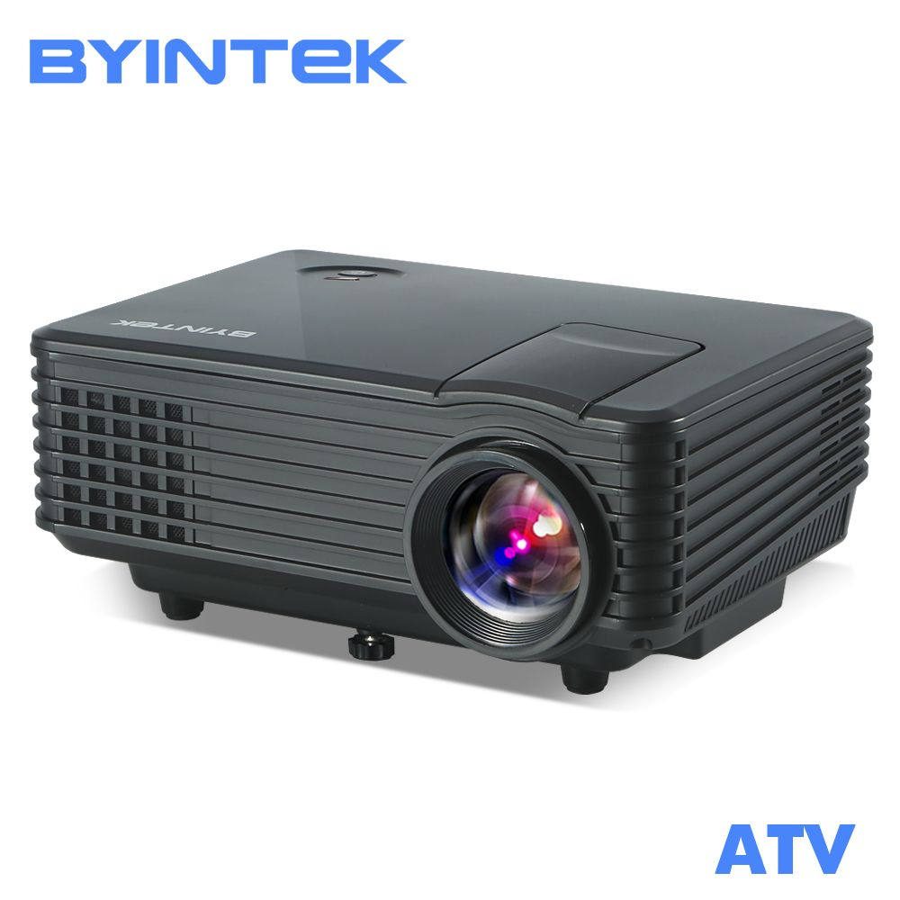 BYINTEK SKY BT905 Home Theater Mini LED Portable Video HD LCD Projector Beamer Proyector with HDMI USB TV Tuner Support 1080P