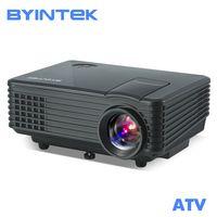 BYINTEK cielo BT905 de cine en casa Mini LED de vídeo portátil HD LCD Proyector Beamer Proyector HDMI con sintonizador de TV USB de apoyo 1080 p
