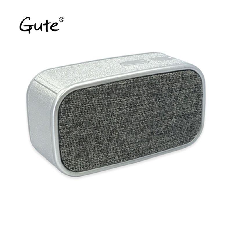 Gute fashion Fabric art Bluetooth speaker square portable handle woofer radio wireless caixa de som alto falante altavoz s5 fan