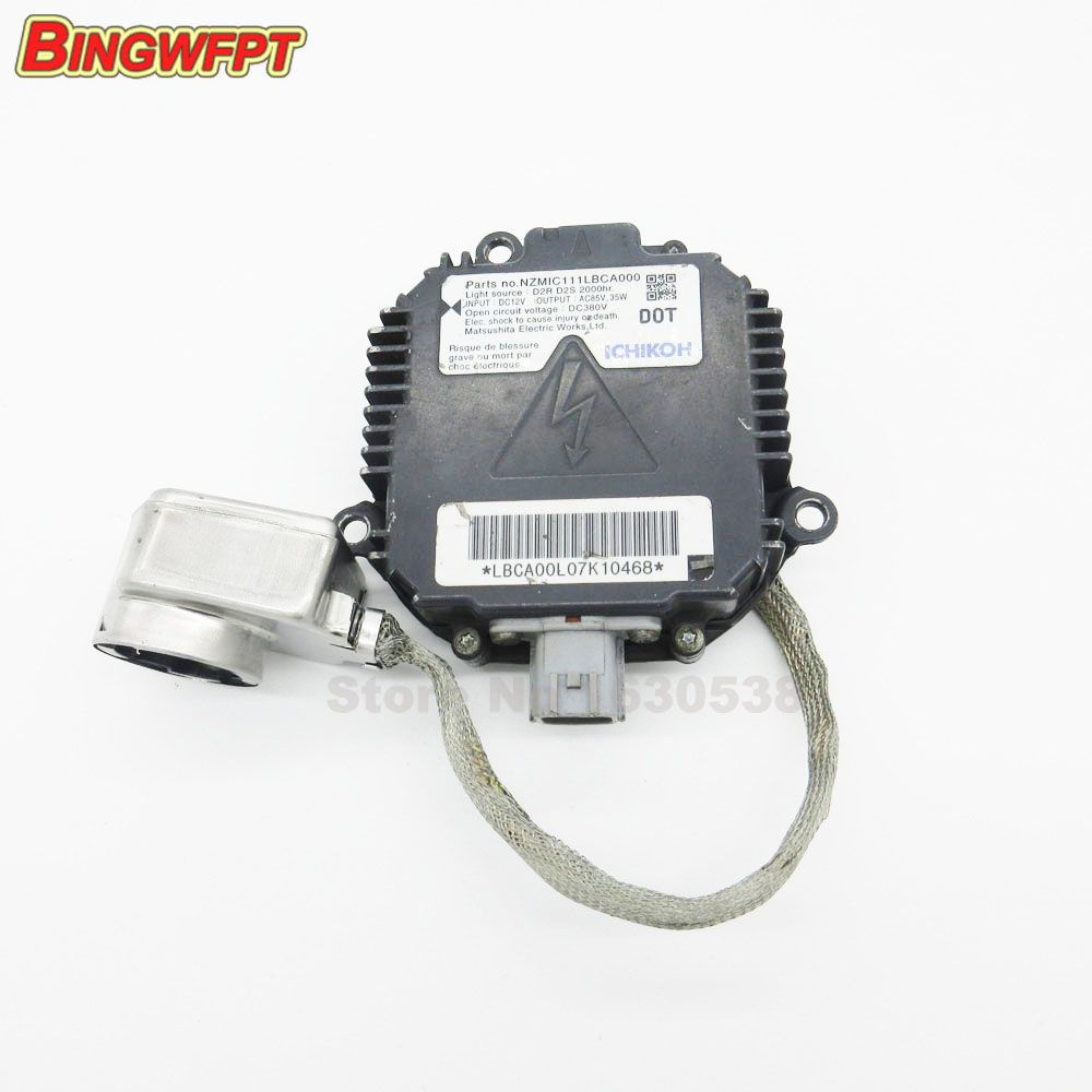 Original used for Matsushita Panasonic D2S D2R HID Xenon Ballast For In-finiti Ni-ssan Su-baru NZMNS111LBNA NZMIC111LBCA000