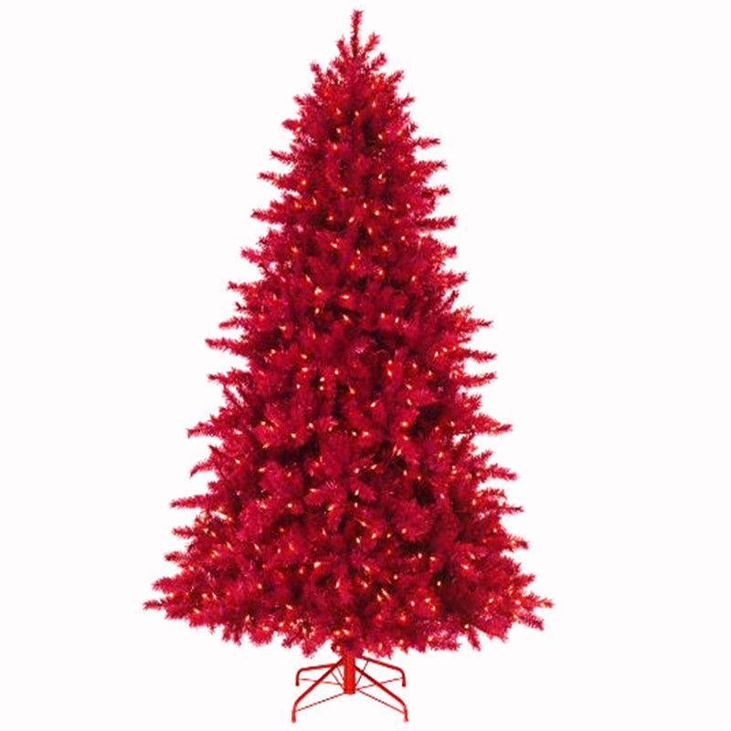 1.2 m / 3.0 m wine red PVC luminous Christmas tree Christmas day hotel shopping mall home decorations