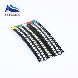 100 pcs Super Lumineux 3528 1210 SMD LED Rouge/Vert/Bleu/Jaune/Blanc/BLANC CHAUD/UV/GLACE BLEU LED Diode 3.5*2.8*1.9mm