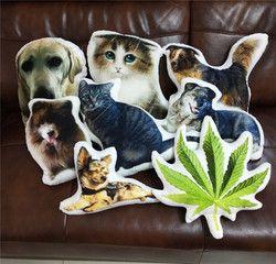 Foto Kustomisasi DIY Kucing Anjing Bantal Mewah Mainan Boneka Boneka Bantal Sofa Mobil Dekoratif Kreatif Hadiah Ulang Tahun