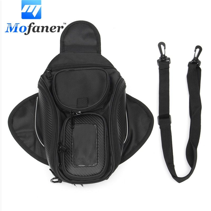 Mofaner 1Piece Universal Waterproof Magnetic Motorcycle Motorbike Oil Fuel Tank Bag Luggage