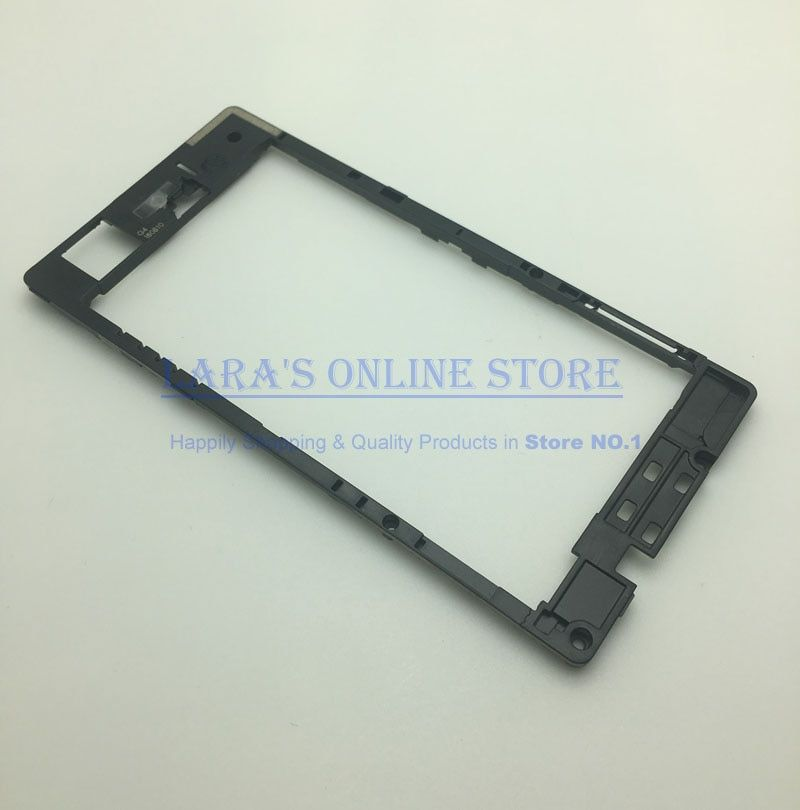 Original Z3 Compact Rear Housing Middle Plate Frame Spare Part for Sony Xperia Z3 Compact Mini Back Rear Frame Supporting Cover