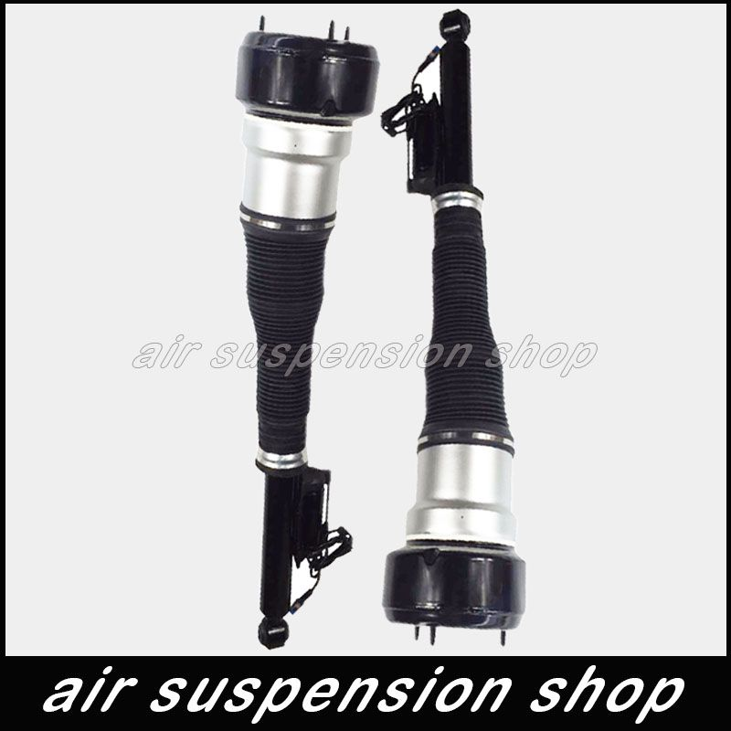 Pair Air Ride Suspension Shock for Mercedes S-Class W216 W221 Rear Shock Absorbers A2213205513 A2213205613