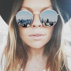 Top Qualité Ronde lunettes de Soleil Femmes Marque Designer 2018 Rétro Conduite Lunettes De Soleil Lunettes de Soleil Pour Femmes Lady Femme de Lunettes De Soleil Miroir
