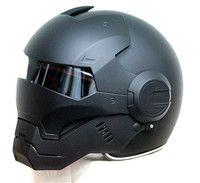 Masei 610 Топ ABS мото Байкер шлем ktm Железный человек Личность Специальная Мода Половина с открытым лицом мото крест матовый черный