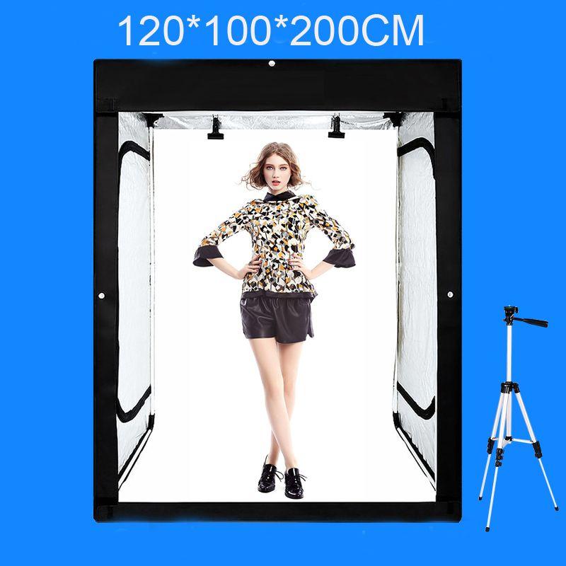 120*100*200 cm Foto Studio Softbox Fotografie Licht box Schießen Licht Zelt Mit Freies Geschenk + Portable tasche