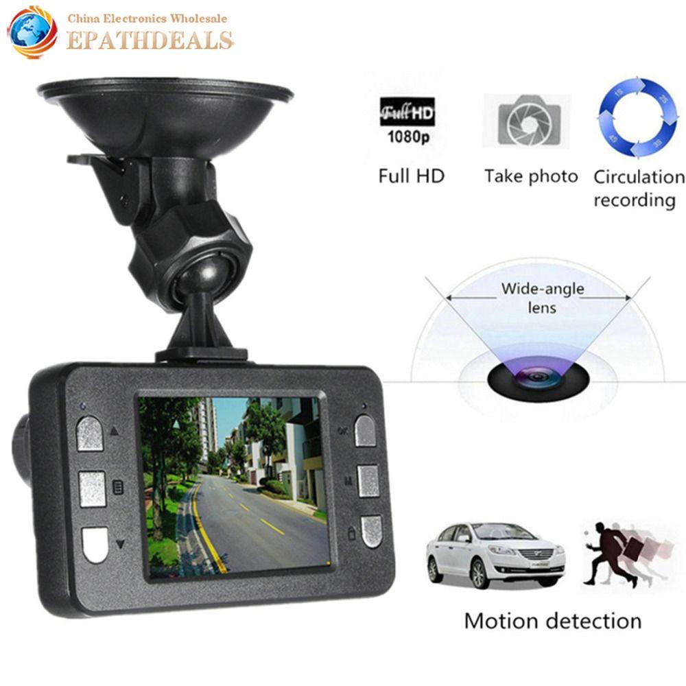 1080P HD Car DVR Camera Video Recorder Camcorder HDMI Infrared Night Vision G-sensor Motion detection Auto DVR Dash Cam