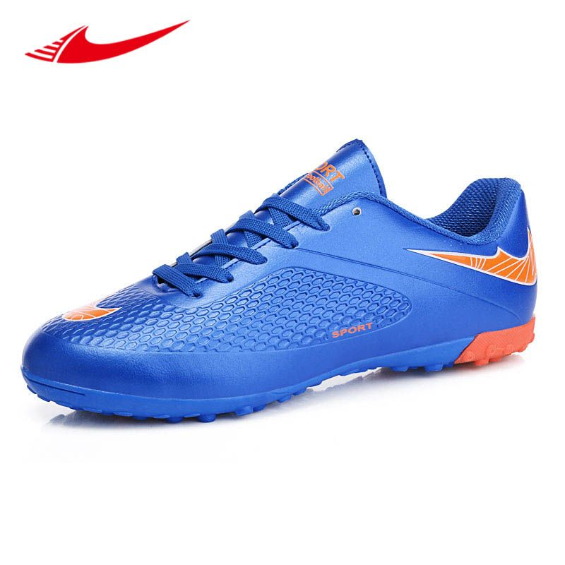 New Men Soccer Shoes Adults Turf Cleats Damping Sport Lightweight Sneakers Outdoor Control Trainer Futsal Shoes Tacos De Futbol