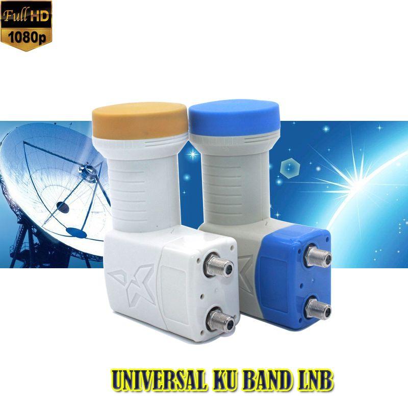Haute qualité NUMÉRIQUE full HD KU-BAND Universel double TÊTE LNB Satellite LNB récepteur satellite lnb universel ku lnb