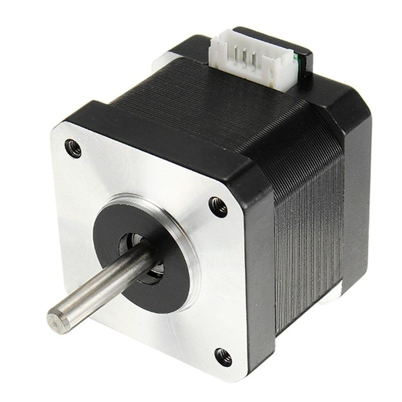 New 1PC 42mm Linear Hybrid 2 Phase 1.8 Degree 0.4NM Stepper Motor For 3D Printer 0.34NM Rated Torque 0.4N.M Holding Torque