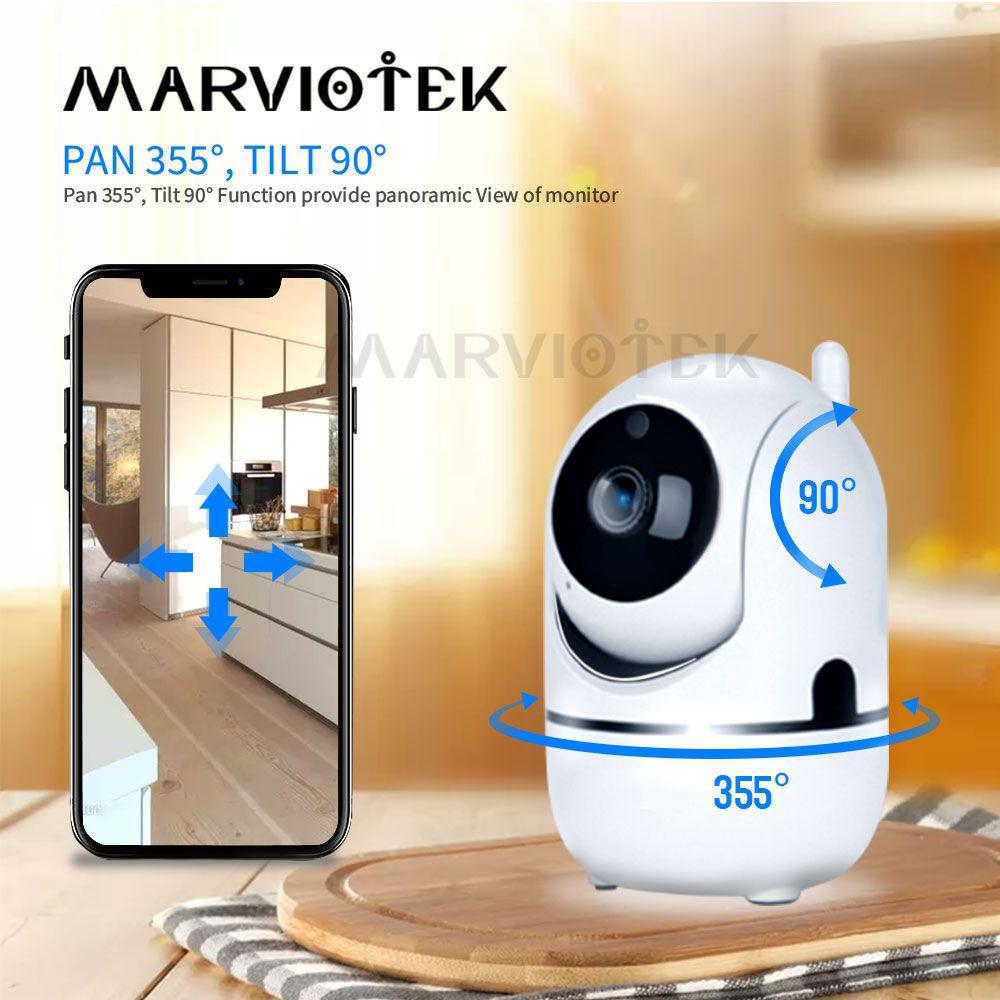 1080 P Full HD caméra IP sans fil Wifi caméra de vidéosurveillance IP Wifi Mini réseau Surveillance vidéo caméra de suivi automatique IR Vision nocturne