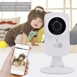 720 p inalámbrico bebé dormir Monitor audio visión nocturna infantil radio Babysitter digital video cámara WiFi temperatura