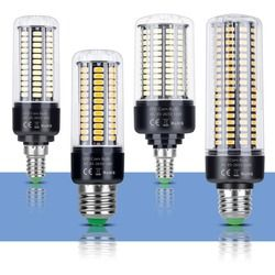 E14 светодиодная лампочка Кукуруза лампы E27 220 V светодиодный кукурузы лампочка 110 В лампада светодиодный Bombillas 5736 ампулы AC85 ~ 265 V 3,5 Вт, 5 Вт, 7 Вт, ...