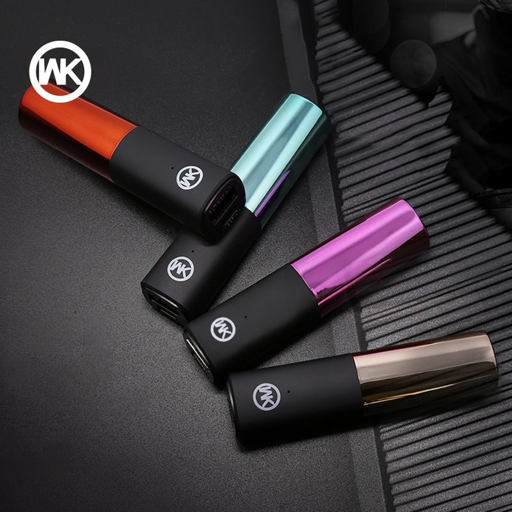 WK DESIGN Portable Charger Mini Powerbank Mi Power Bank Cargador Portatil for iPhone X Xiaomi Power Bank External Battery Mi 7 8