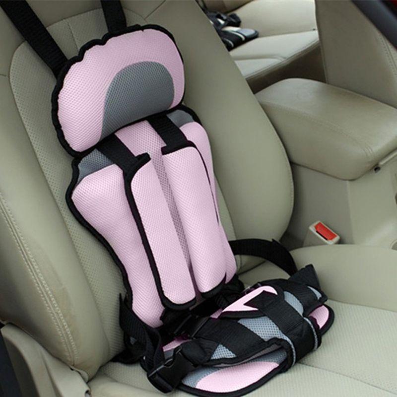 Регулируемый маленьких автомобиля Детская безопасность сиденье пятиточечными ремнями безопасности детские стулья утолщение Губка Подушк...