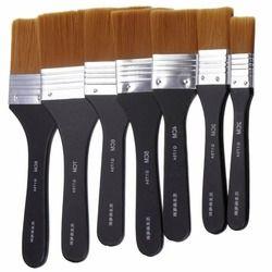 1 pc Plat Conseils Artiste Brosse Nylon Cheveux Peinture À L'huile Aquarelle Peinture Art Stylo 7 Modèles