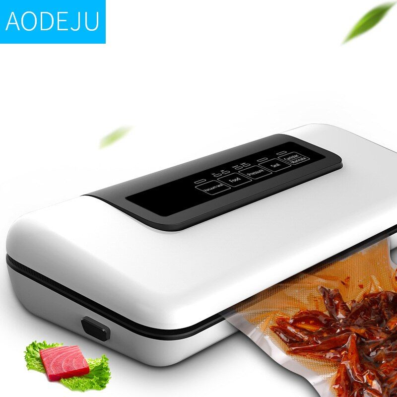 2018 NEW W300 Household Automatic Vacuum Sealer, Vacuum Packing Machine, Commercial Vacuum Packer with Bag Gift 10pcs