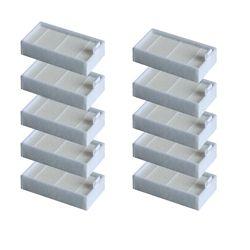 10 шт. эффективный пылевой фильтр HEPA фильтр для ILIFE v3/v3S/v3L/v3s pro/v5/v5s/v5s pro/x5/v50 робот пылесос Запчасти для авто