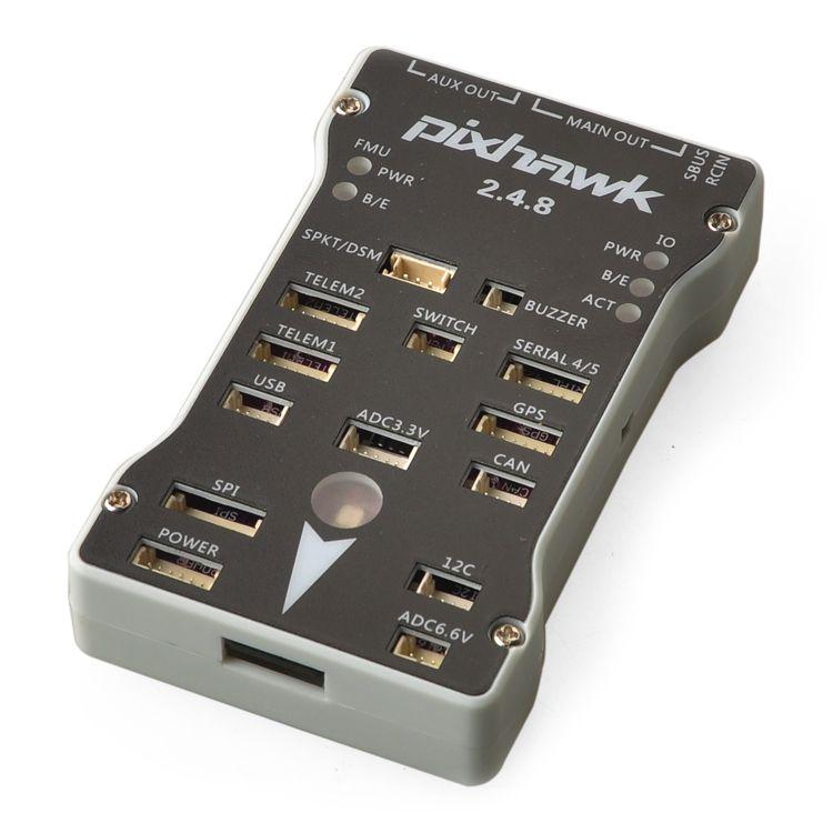 Pixhawk PX4 PIX 2.4.8 32 Bit Flight Controller PX4FMU PX4IO Safety Switch Buzzer 4G SD Splitter Expand Integrated