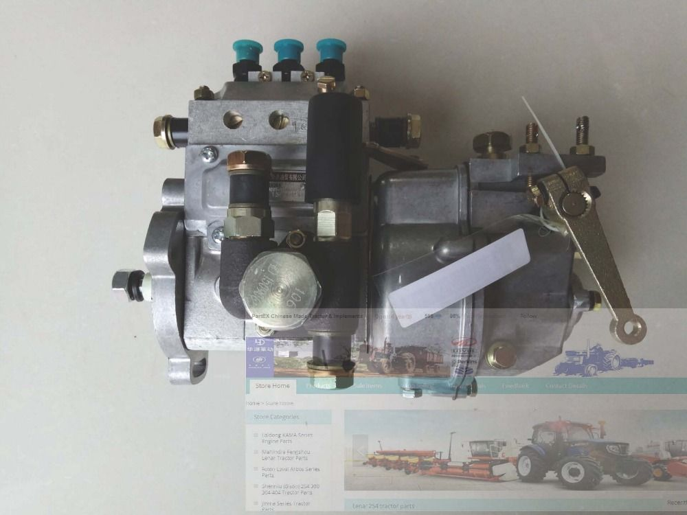 N390T-18001ZZZ, the high pressure fuel pump for Changchai ZN390T engine