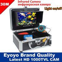 Eyoyo оригинал 30м 1000TVL камера рыбоискатель подводная рыбалка видеокамера 7