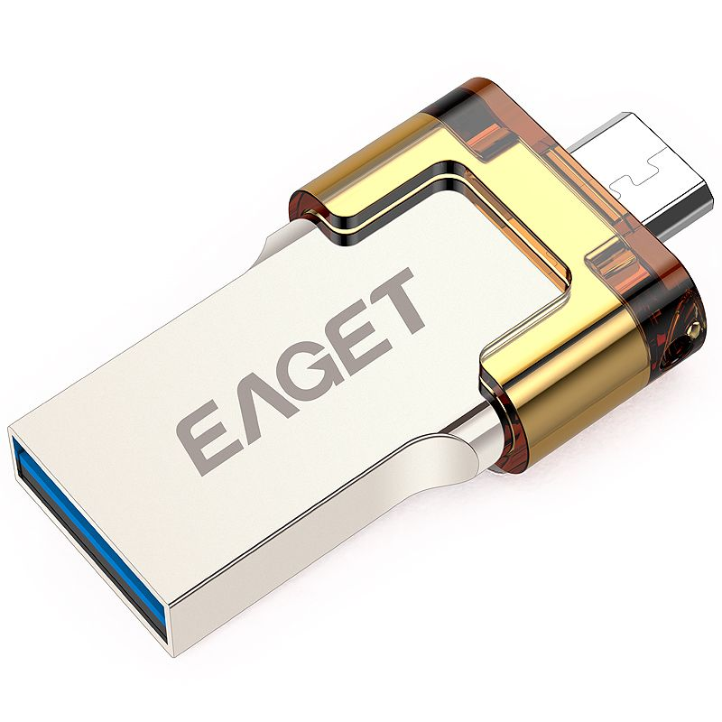 EAGET V80 USB 3.0 64 GB 32 GB 16 GB Téléphone Intelligent Tablet PC OTG USB Flash Drives Stockage Externe Micro Pen Drive Memory Stick