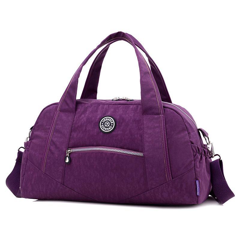 Vintage décontracté nylon sacs de voyage nouvelle mode femmes fourre-tout sac à main étanche sacs à main sacs à bandoulière grande capacité