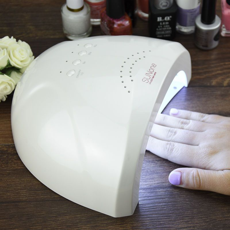 YingJia 48W SUNONE Professional LED UV Nail Lamp Nail Light Nail Dryer UV Lamp Ship From Estonia Warehouse