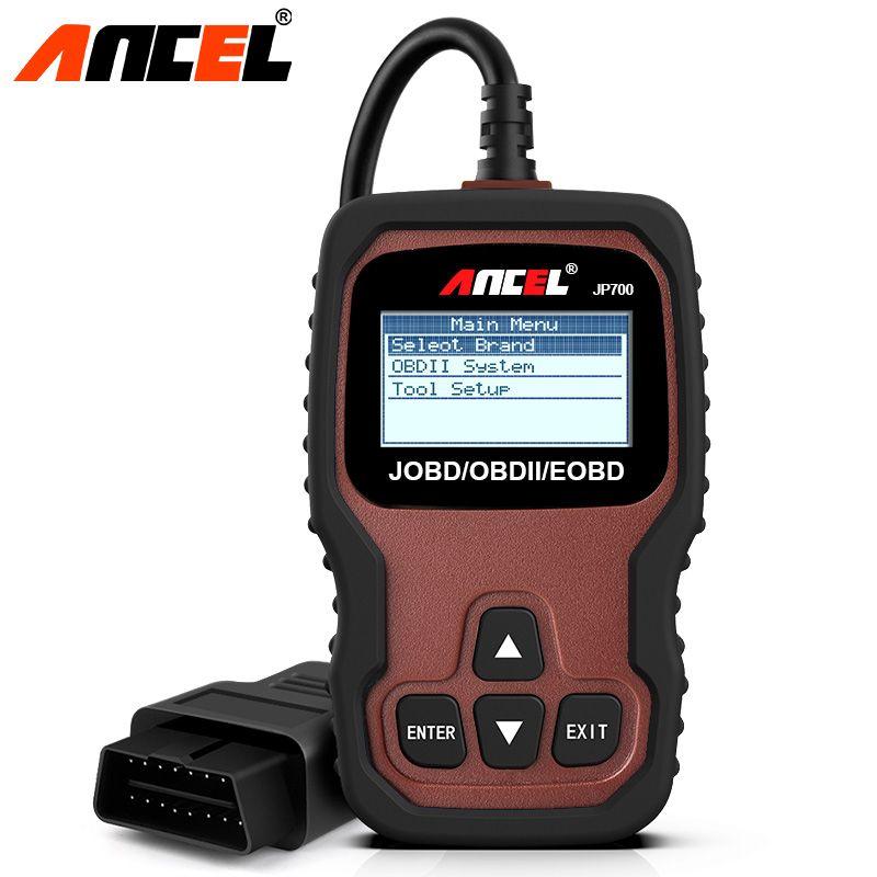 Ancel JP700 OBD2 Car Diagnostics Scanner for Honda Toyota Nissan Mitsubishi JOBD EOBD Code Reader OBD 2 Auto Diagnostic Scanner