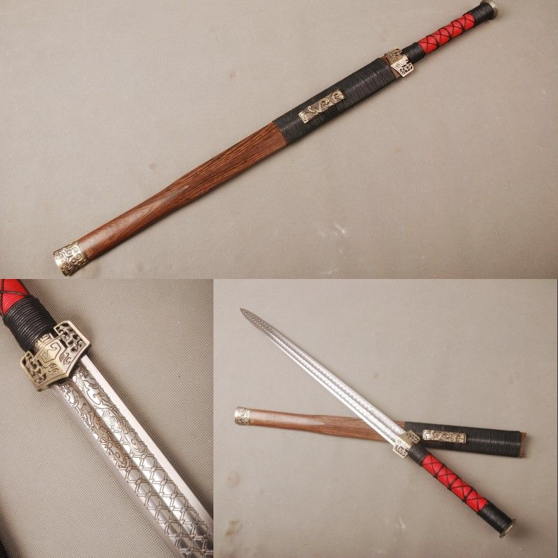 Details about 80cm high carbon steel Chinese Han Dynasty sword
