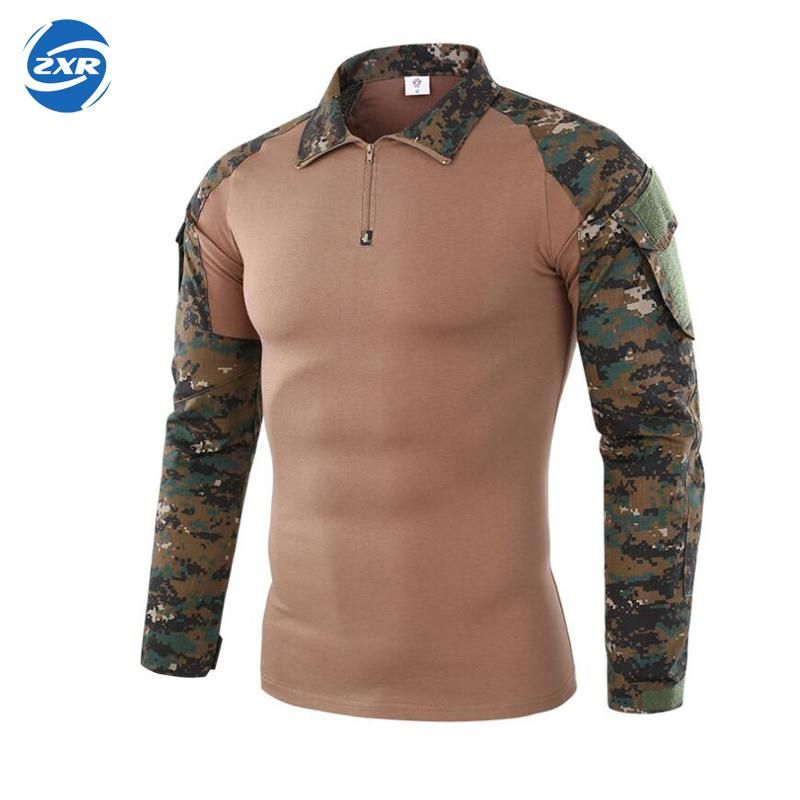 Gear Camouflage Army Hiking Shirts Men Ru Soldiers Combat Tactical Shirt Military Force Multicam Camo Long Sleeve Hunting Shirt
