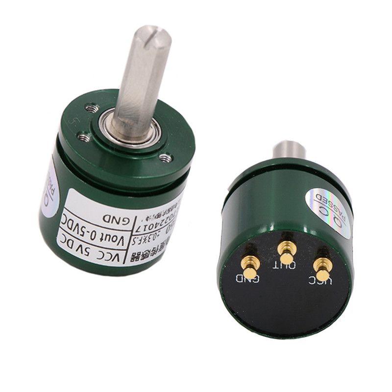 Halle Winkel Sensor Nicht-kontaktieren 0-360 Grad Winkel Drehmoment Rotation Sensor 12bit Verschiebung Sensor Position Sensor 0 -5 v