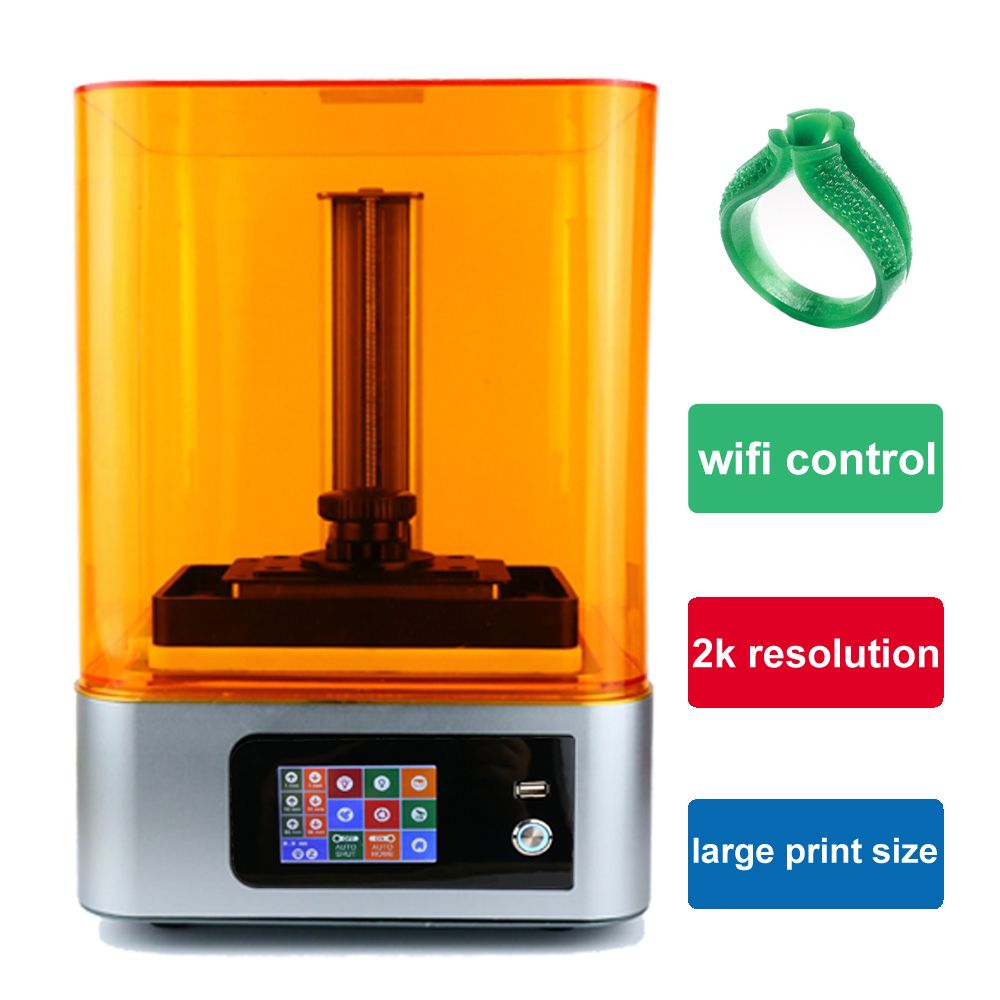 Bildhauer UV Licht-Aushärtung wifi SLA/LCD 3d drucker große mit 405nm UV harz DLP Impresora für Schmuck zahnmedizin photon geschenk