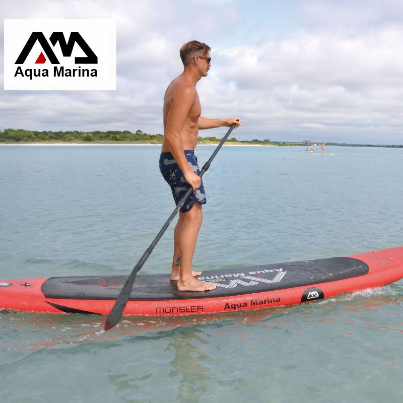 Surf board 365*82*15 AQUA MARINA MONSTER aufblasbare sup bord stand up paddle board surf kajak sport aufblasbare boot A01002