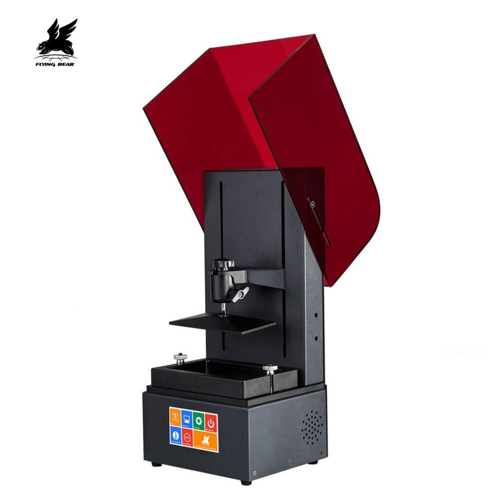 Neueste Flyingbear Farbe Touch Screen 2560*1440 LCD Glanz UV Harz DLP 3D Drucker
