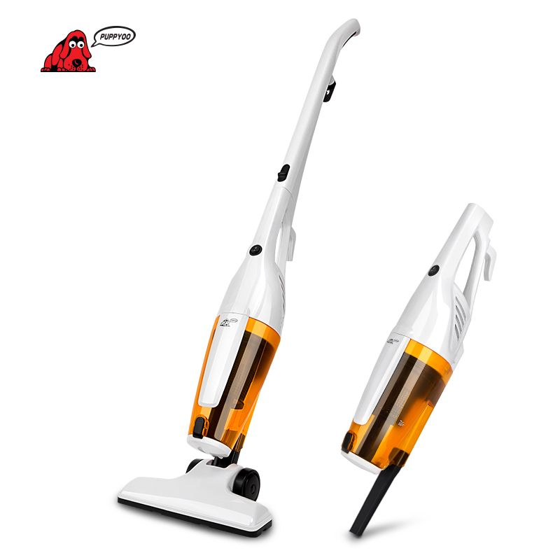 PUPPYOO Home Rod Powerful Vacuum Cleaner Handheld Dust Collector Multifunctional Brush Household Stick Aspirator WP3010