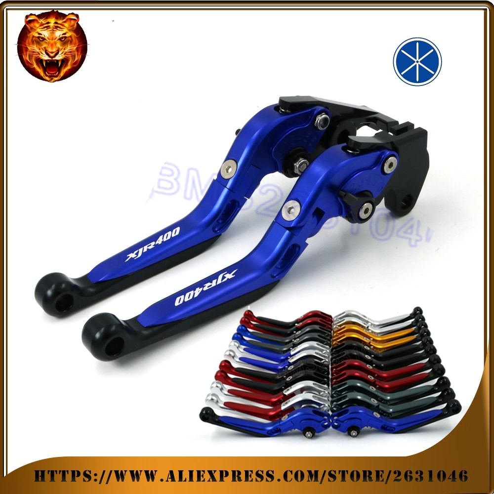 Motorcycle Adjustable Folding Extendable Brake Clutch Lever For YAMAHA XJR400 1993 94 95 96 1997 XJR400R 1999 2010 free shipping