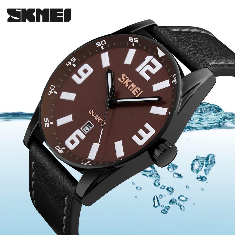 SKMEI Wristwatch Men Watches Top Brand Luxury Famous Wrist Watch Business Male Clock Quartz Watch Quartz-watch Relogio Masculino