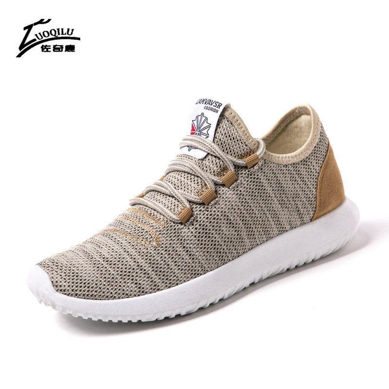 New Men Casual Shoes Breathable Mesh Men Shoes Lightweight Men Flats Casual Shoes Men Brand Designer Male Shoes big size 39-46