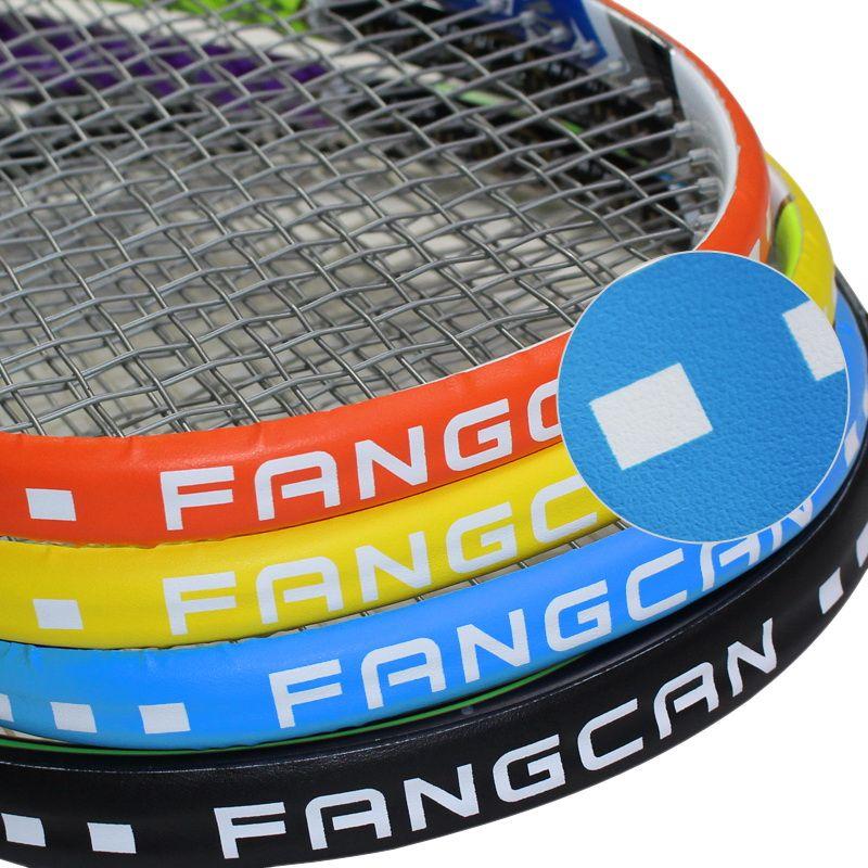 3 pc/pack FANGCAN Tennis/Squash Protection Bande PU Composite De Tennis/Squash Raquette Protection pour la tête