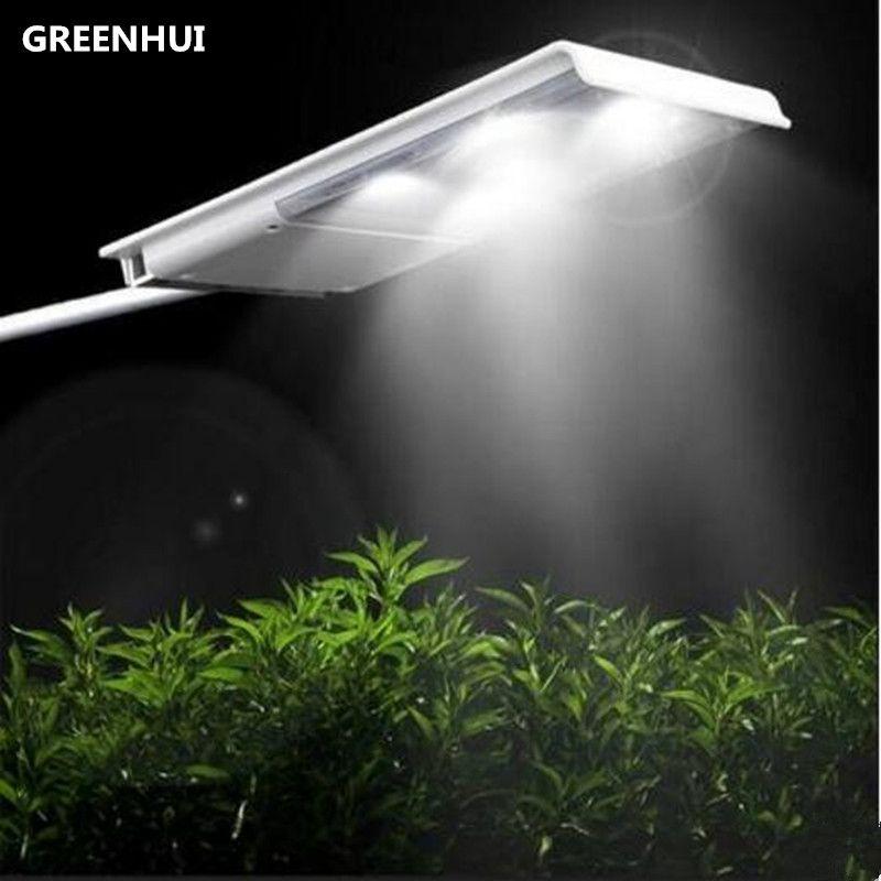 Hot 15led solar street light solar powered light sensor 2500mAh lithium battery outdoor waterproof wall lamp for garden path