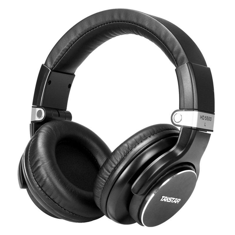 Moniteur Studio Casque Takstar HD5500 Dynamique 1000 mW Puissant HD Sur L'écouteur D'oreille Antibruit Pro DJ Casque auriculars