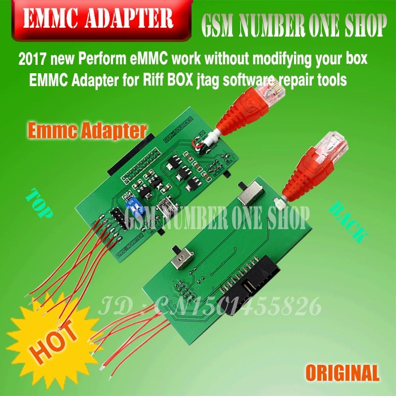 EMMC ADAPTER FOR RIFF BOX
