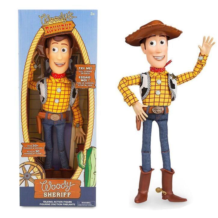 43 cm jouet Story 3 parlant boisé Action jouet figurines modèle jouets enfants cadeau de noël