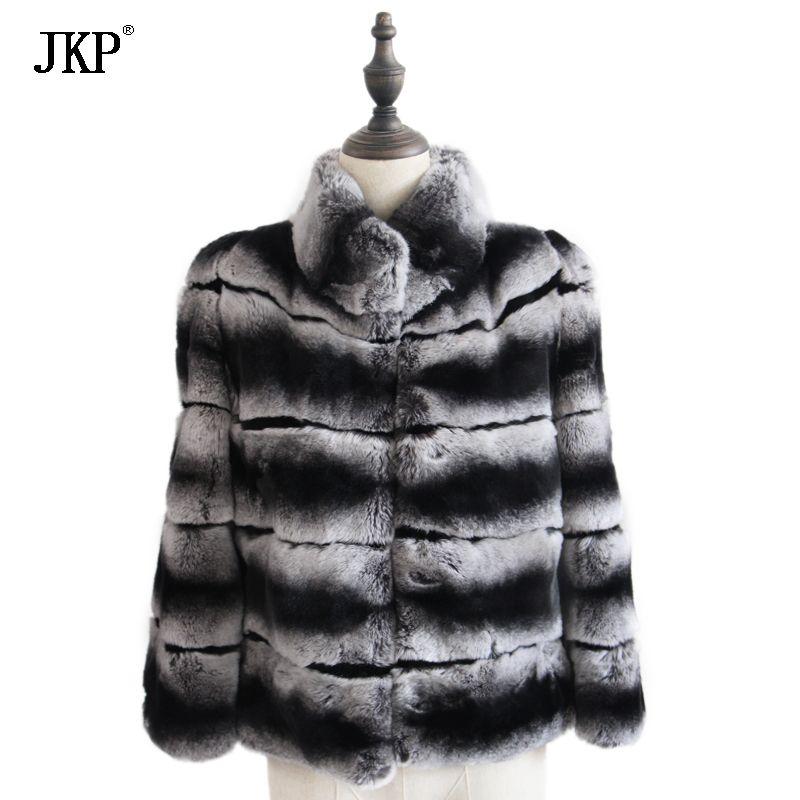 2018 Winter Girl Fur Coat Children's Natural Rex Rabbit Fur Jacket Warm Boys Kids fashion Jacket